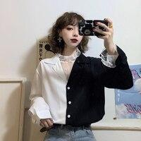2020 primavera estate autunno nuove donne di modo casuale della signora bella bella Magliette E Camicette donna femminile OL delle donne Magliette e camicette Aq7