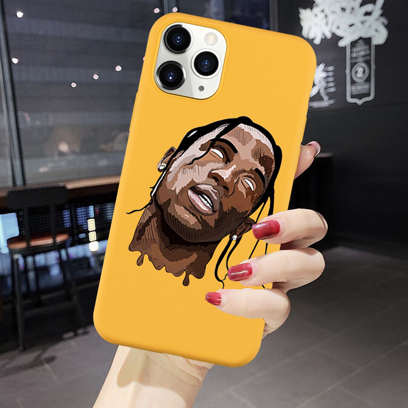 Remazy Travis Scott Huncho Jack Phone Case For iPhone XS MAX 11 Pro SE 2020 XR X 7 8 6 Plus ASTROWORLD Silicone Soft Cover Coque