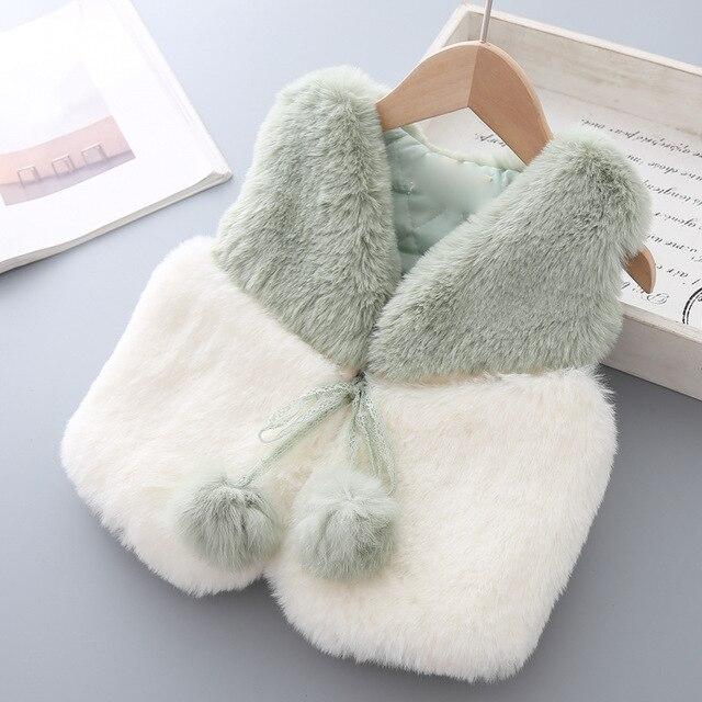 Winter Faux Fur Vest Lace...