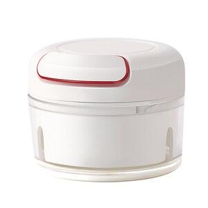 Image 4 - AMINNO Mini Gemüsehacker Fleischwolf Zerkleinerer für Babynahrung, Mixer Blender zum Hacken von Fleisch, Obst und Gemüse