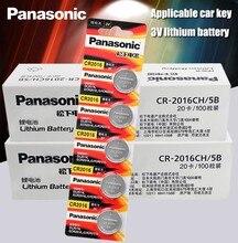 Panasonic Bateria Li-ion de Alta Qualidade 200 PÇS/LOTE 3V Li-ion Botão Bateria de Relógio cr2016 Coin Baterias cr 2016 DL2016 ECR2016 GPCR