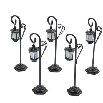 New 5 PCS Streetlight Shape Wedding Party Reception Place Card Holder Number Name Table Menu Picture Photo Clip Card Holder Stan
