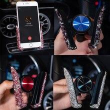 1 chiếc Xe Ô Tô Đa Năng Lỗ Thông Khí Pha Lê Giá Đỡ Điện Thoại dành cho Xiaomi Pocophone F1 HuaWei Cho XE BMW Lỗ Thông Khí Núi Tế Bào điện thoại Stander