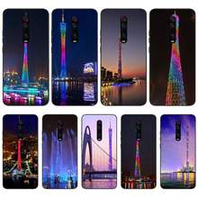 Viviana Canton Tower China Coque Shell Phone Case For Redmi S2 5A 5 5Plus 6 6Pro 6A 4X 4X 7 7A Cover(China)
