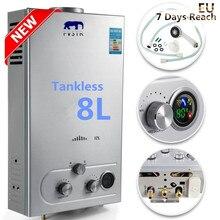Lpg Heater Shower-Boiler Tankless Propane Instant 8L Local-Stock Wash Flue-Type Flue-Type