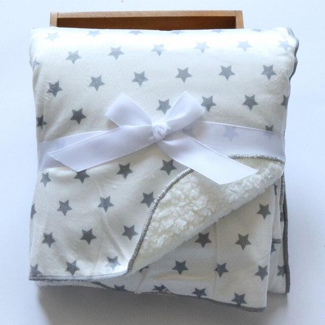 Fleece Double Layer Baby Blanket 2