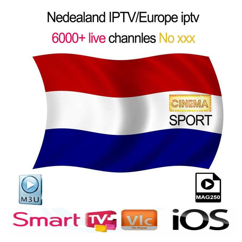 Canais de Iptv IPTV Netherland Holanda Holandês Assinatura 1 ano Bélgica Suécia Enigma2 m3u Para Smart Tv BOX android