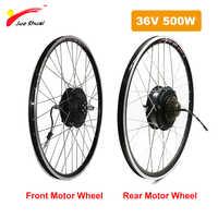 36V 500W buje trasero y delantero rueda de Motor para 20 24 26 27,5 28 29 pulgadas 700C ebike bicicleta eléctrica de Converion Kit eléctrico ciclismo parte