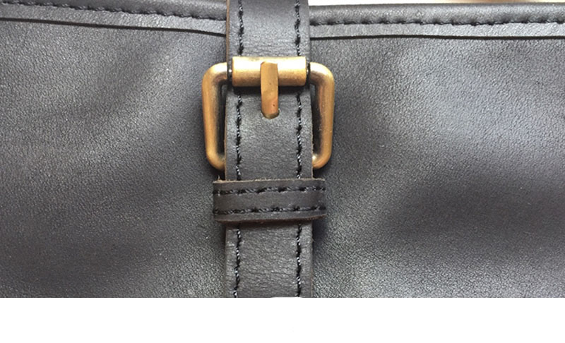 bolsa de ombro primeira camada de couro