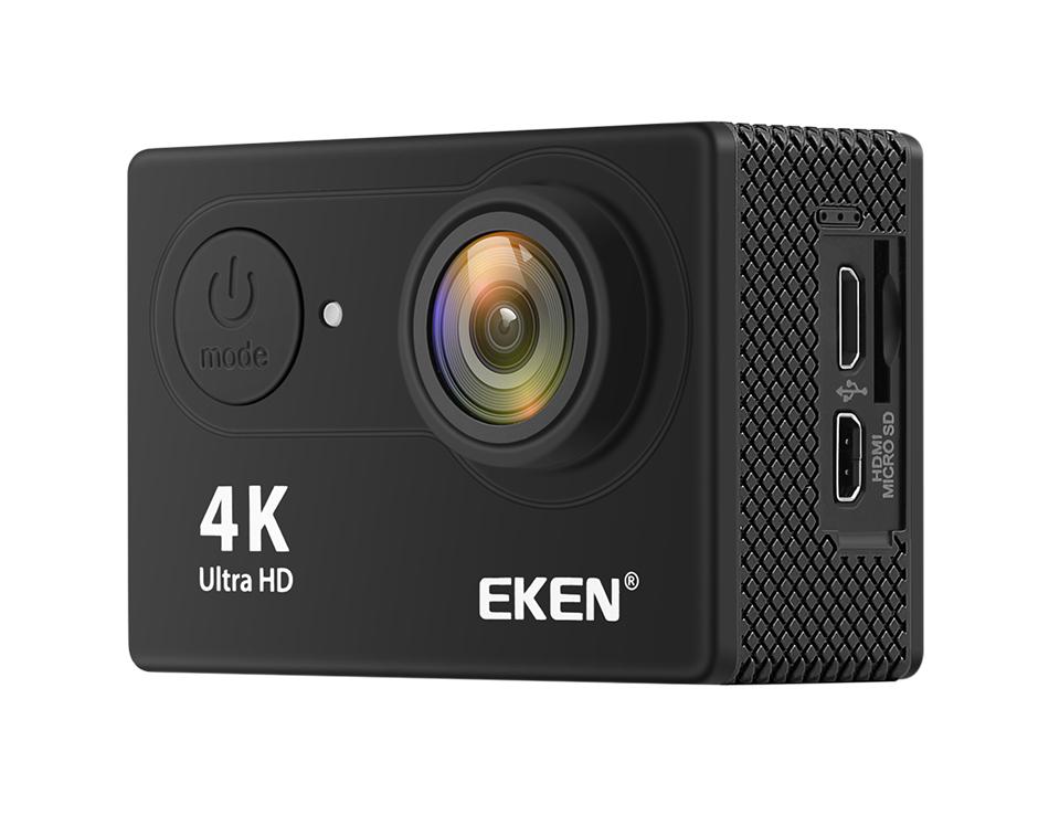 """EKEN H9R/H9 Ultra HD 4 K/30fps WiFi 2,0 """"170D impermeable bajo el agua 25"""