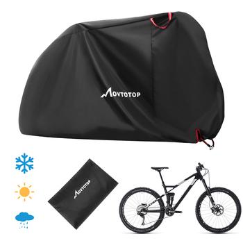 1PC osłona na rower wodoodporna anty słońce śnieg deszcz osłona przeciwpyłowa do skutera rowerowego 210D tkanina Oxford plandeka rowerowa tanie i dobre opinie Vorcool CN (pochodzenie) Bike rain cover