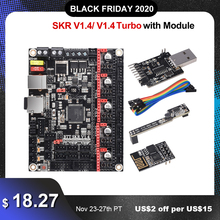 BIGTREETECH SKR V 1,4 SKR V 1,4 Turbo Control Board 32 Bit BTT 3D Drucker Teile SKR V 1,3 TMC2209 TMC2208 Ender3 Upgrade DIY Kit