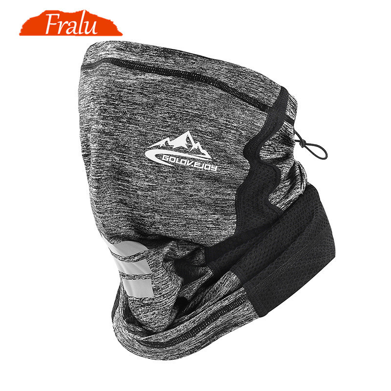 FRALU Scarf men Sunscreen Ice Riding Mask Outdoor Bicycle and Motorcycle Magic Headscarf Wind-proof Dust-proof and Air-permeabl