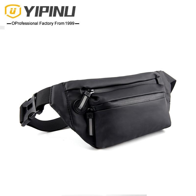 Litthing 2019 Waterproof Man Waist Bag Fashion Chest Pack Outdoor Sports Crossbody Bag Casual Travel Male Bum Belt Bag