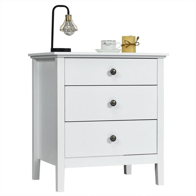 Accent Table Organizer W/3 Drawers  1