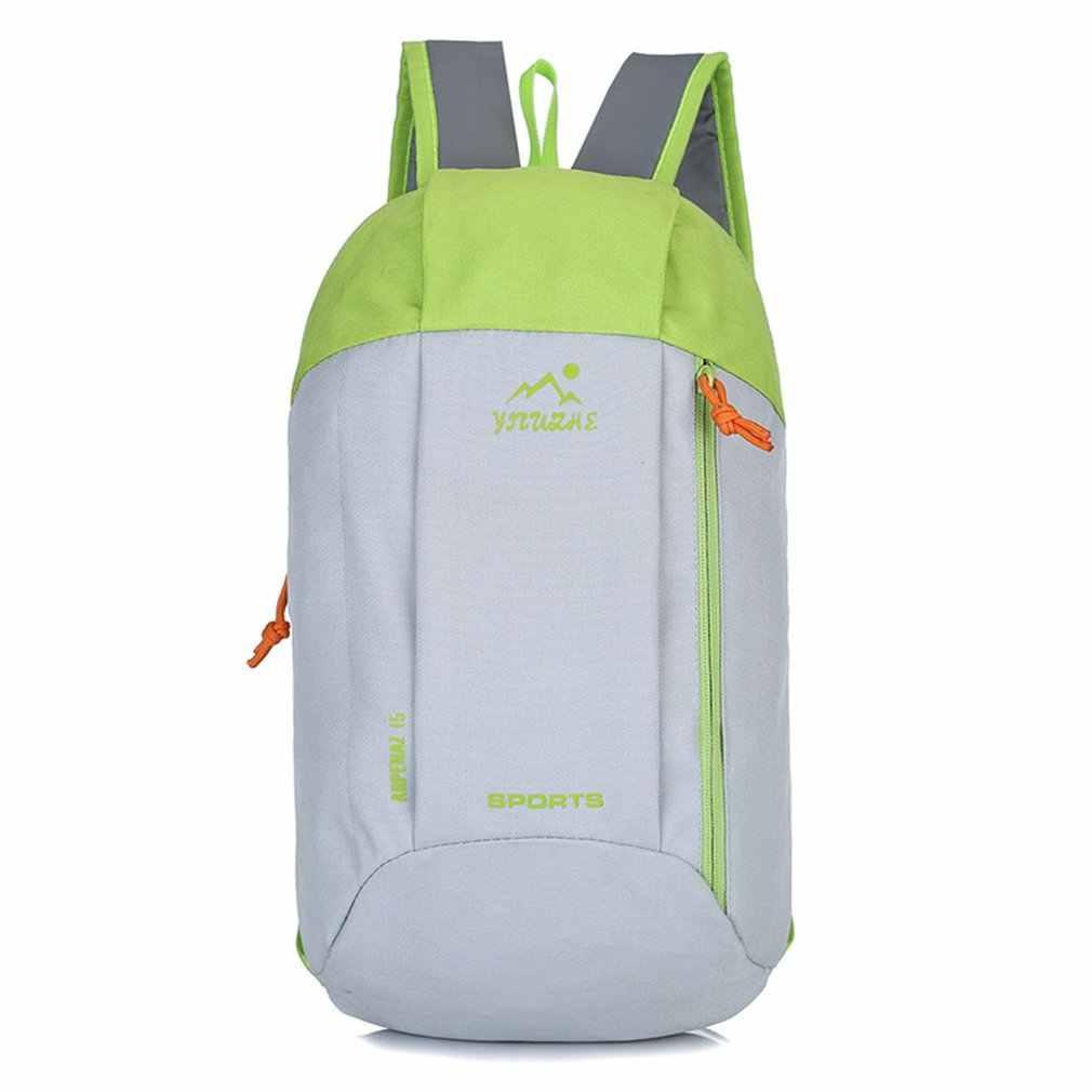 Neue Frauen Outdoor Rucksack Wasserdicht Leinwand Männer Tasche Reise Sport Camping Lauf Taschen Rucksack Studenten Schule Tasche