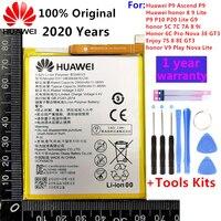 2020 original Real 3000mAh HB366481ECW For Huawei p9/p9 lite/honor 8/p10 lite/p8 lite 2017 /p20 lite/p9lite battery +Tool 1