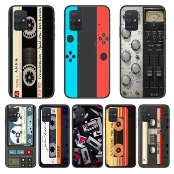 Shockproof Game Personality Phone Case Hull For Samsung Galaxy A 50 51 20 71 70 40 30 10 E 4G 5G S Black Shell Art Cell Cover image