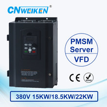 wk600B Vector Control frequency converter 15kw 18.5kw 22kw Three to Three-phase 380V Permanent Magnetic Synchronous Motor Drive 440v 15kw three phase low power ac drive for water pump