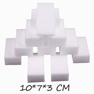 Image 3 - GIZILI 50 יח\חבילה באיכות גבוהה קסם ספוג Eraser מלמין ספוג מנקה עבור מטבח משרד אמבטיה ניקוי 10x7x3cm