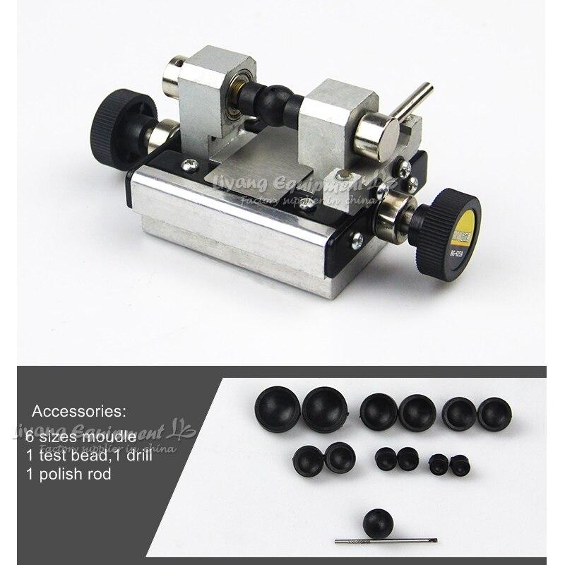 LY6259 Miniatur Buddha holz drehmaschine Perle schleifen bohren stanzen maschine klemme