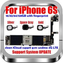Dành Cho Iphone 6S Bo Mạch Chủ Với Đầy Đủ Chip mở Khóa Cho Iphone 6S Logic Bảng Mà Không/Có Cảm Ứng ID Bằng 16Gb 32GB/ 64Gb/128Gb