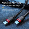 Baseus USB C to USB Type C Cable for MacBook Pro Quick Charge 4.0 PD 100W Fast Charging for Samsung Xiaomi mi 10 Charge Cable 5