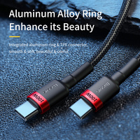Baseus USB C to USB Type C Cable for MacBook Pro Quick Charge 4.0 PD 100W Fast Charging for Samsung Xiaomi mi 10 Charge Cable