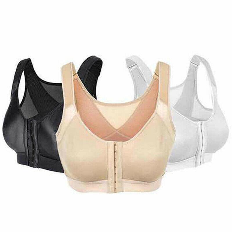 Hot Women Posture Corrector Bra Sports Bras Wireless Back Support Push Up Fitness Bra Underwear