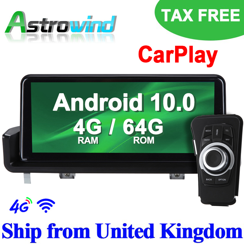 <font><b>10.25</b></font> inch 8 Core 64G ROM <font><b>Android</b></font> 10.0 System Car GPS Navigation Media Stereo Radio ForBMW 3 Series <font><b>E90</b></font> E91 E92 E93 CarPlay image