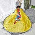 1,5 m Spielzeug Lagerung Taschen Kinder Spielen Matte Bausteine Decke Oxford Tuch Tragbare Spielzeug Bereinigung Organizer Lagerung Eimer Spielzeug tasche