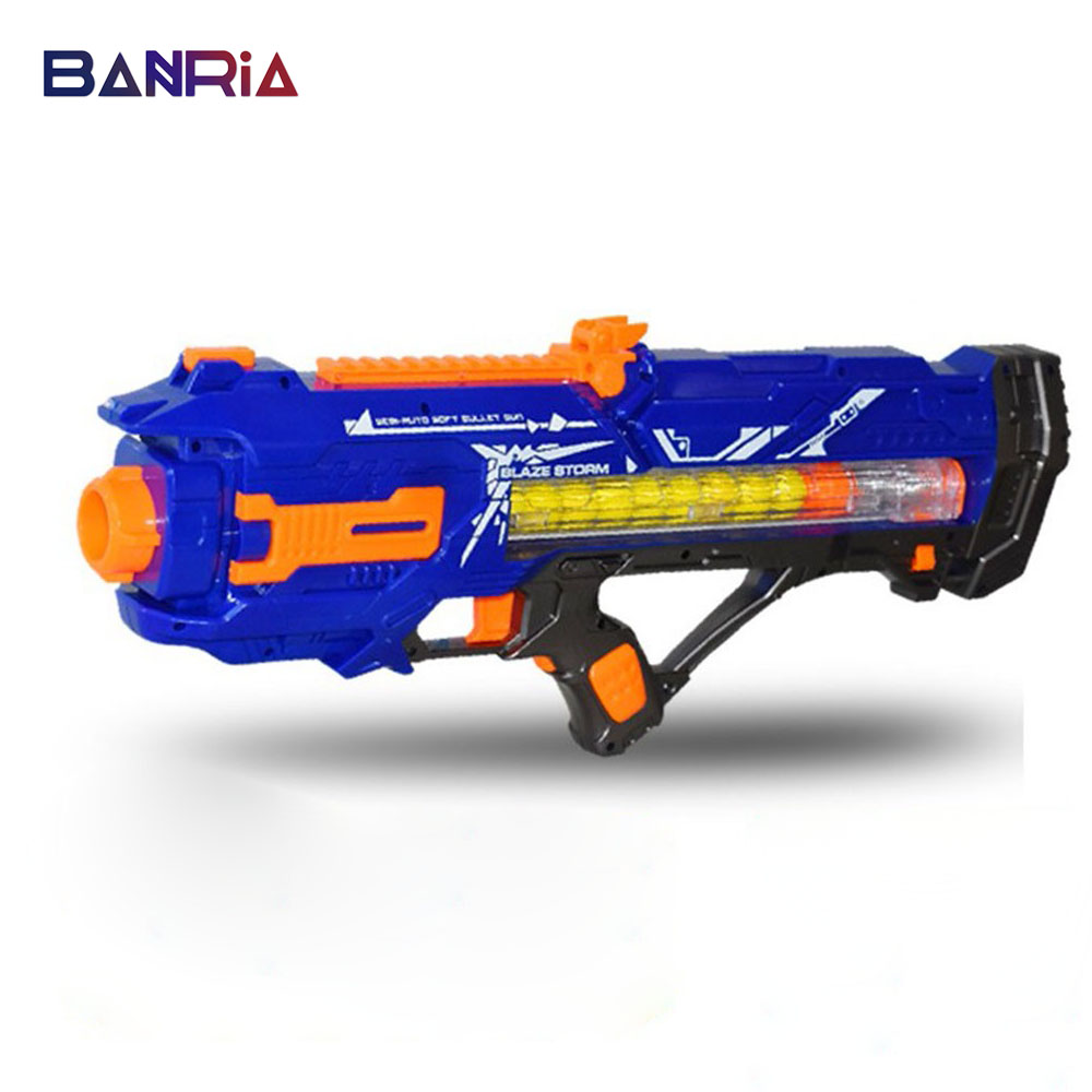 Toy Gun Suit For Rival Zeus Apollo Ball Darts Suit Gun Toy Birthday Gift For Nerf Shoots Balls Bullet Toys For Boy Without Box