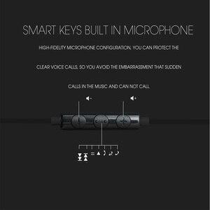 Image 5 - Awei ES 20TY في الأذن الثقيلة باس عزل الضوضاء مع ميكروفون العالمي سماعة سماعات الأذن يدوي مع 1.2m خط سماعة