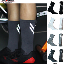 Cycling-Socks Reflective-Strip Dh Sports High-Cool New with Breathable Road Tall