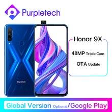 Honor 9X Smartphone Google Play 48MP Triples Camera 6.59'' Mobile Phone