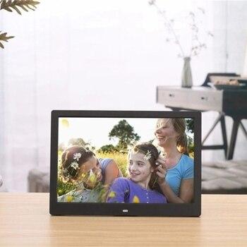 SJD-1203 12 inch LEDs Digital Photo Frame 1280x800 H-D Screen Desktop Album Display Image MP4 Video MP3 Audio Clock Calendar wit