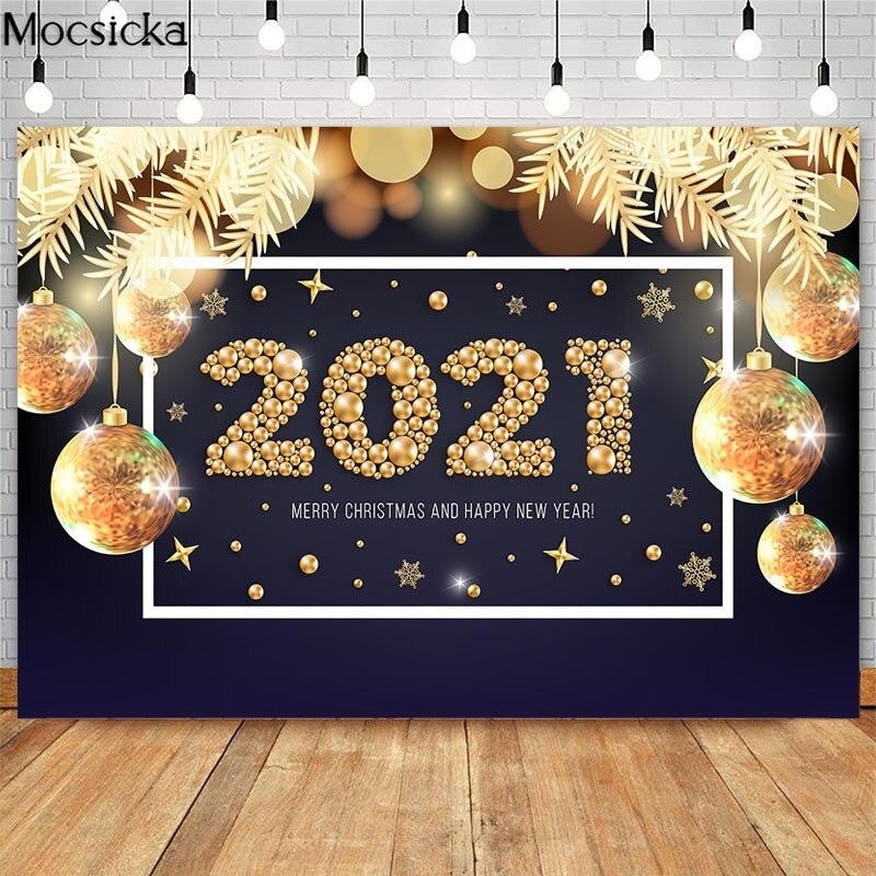 2021 новогодние вечерние фоны mocsicka с золотым рождественским