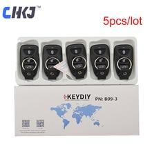 CHKJ 5pcs/lot 3 Buttons B09-3 Keydiy Universal Remote Control KD Key Replacement Smart Key For KD900 KD900 KD200 URG200 Mini KD