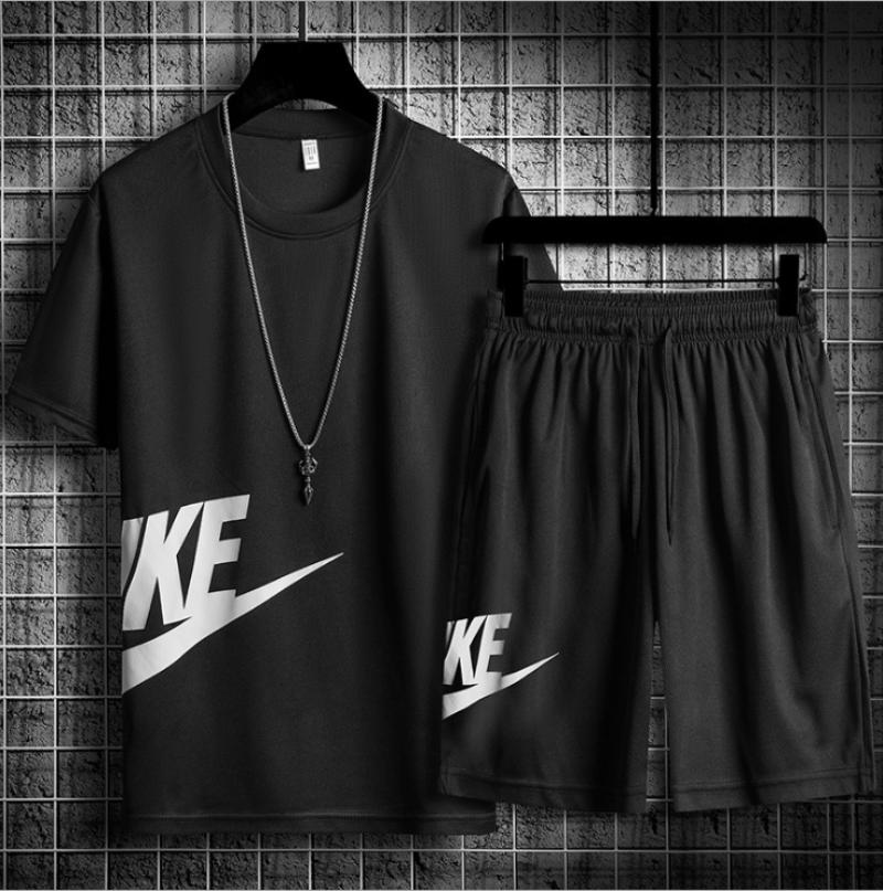 2020 летние мужские повседневные комплекты спортивной одежды + футболка с коротким рукавом мужские пляжные шорты мужские спортивные костюмы с эластичной резинкой на талии спортивные шорты|Наборы для бега|   | АлиЭкспресс - Отслеживание цены на алиэкспресс