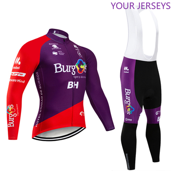 Invierno 2020 equipo BH polar termal Ciclismo JERSEY pantalones bicicleta conjunto hombres...