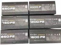 Fuente de alimentación del ordenador Serie platinum módulo completo, 650P2 750P2 850P2 1200P2 1600P2, evga 80PLUS, original, usado