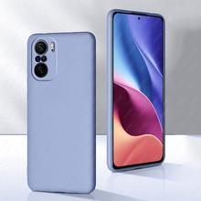 For Xiaomi Poco F3 Case F3 X3 Pro Note 10 Pro 10s Cover Liquid Silicone Shell Soft Protector Case For Xiaomi Pocophone m3 x3 NFC
