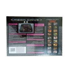 Nouveauté couleur noire Version PAL EU Plug Consoles de jeux adapté pour Sega MD2 MD 2 TV Console de jeu vidéo carte classique 16 bits garçon