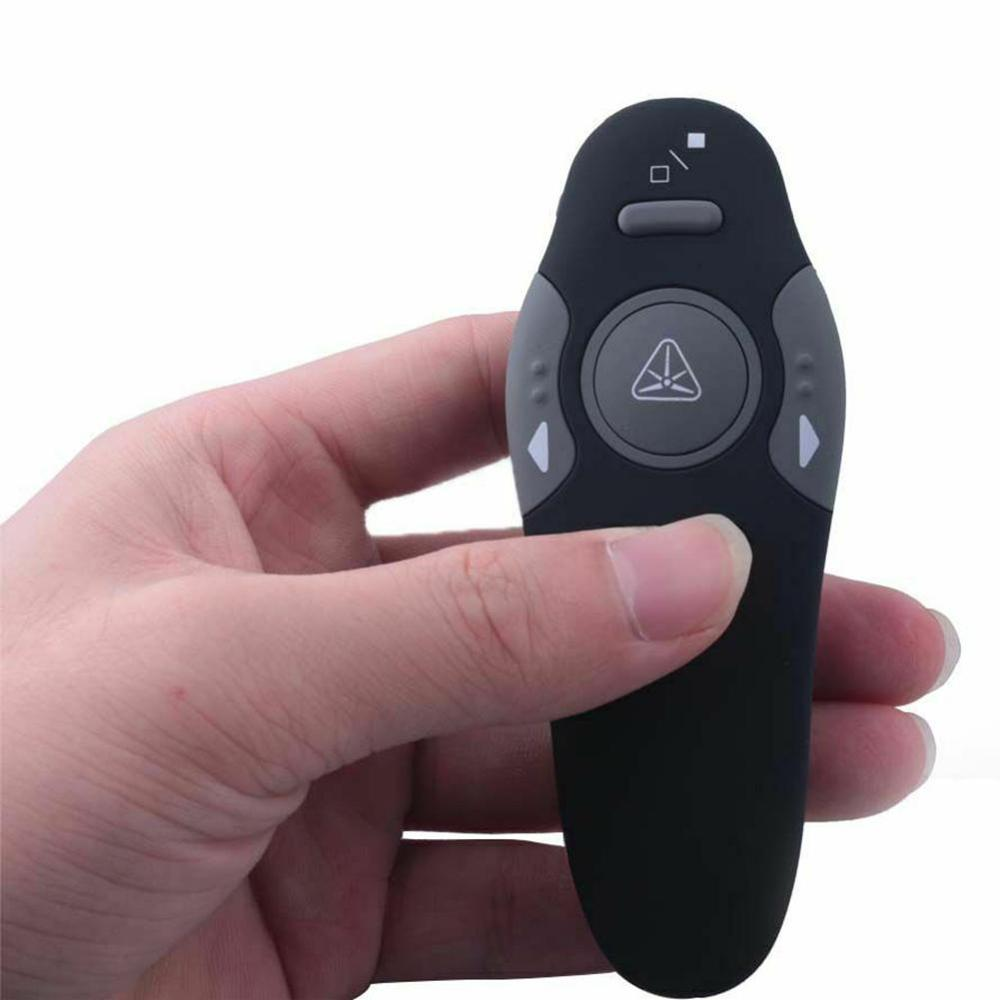 1PC Wireless Mouse USB Powerpoint Presentation PPT Flip Pen Pointer Clicker Presenter With Red Light Remote Control Pc Mice