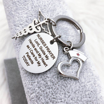 Zciti personalized Nurse doctor thanksgiving keychain  Keychain Key Ring Chain Jewelry Gifts for friends, family, lovers