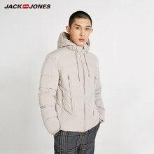 JackJones Men's Hooded Down Jacket Short Coat Basic Menswear