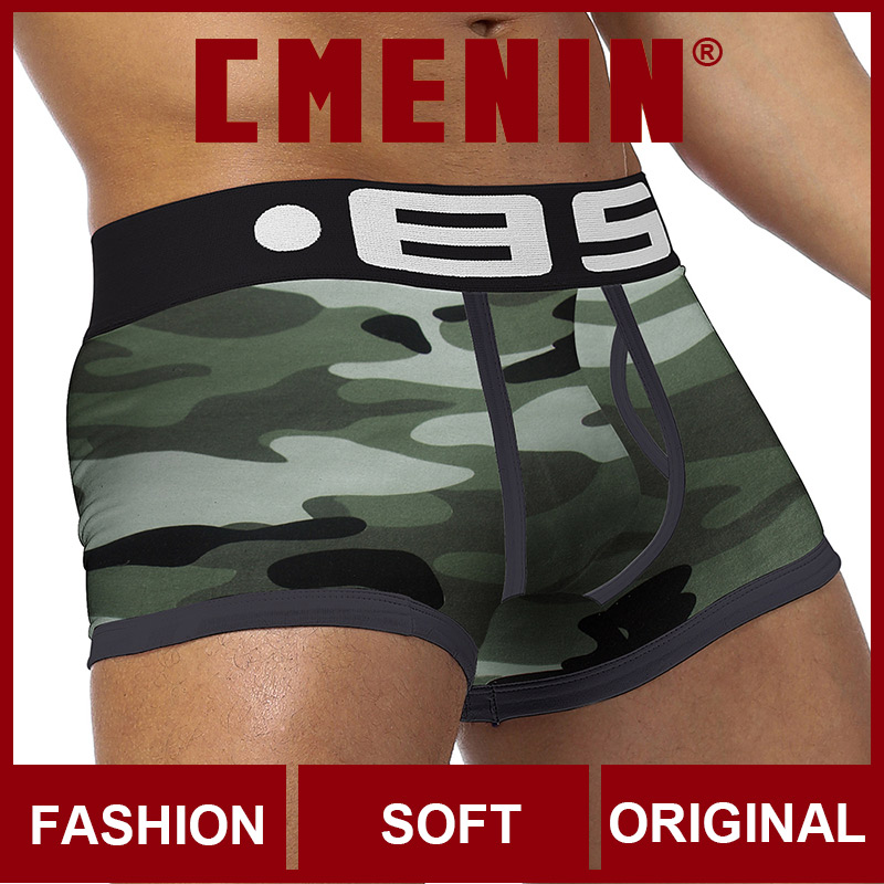 High Quality 2020 New Underwear Men Boxers Cotton Mens Boxershorts Underware Boxer Shorts Underware Cueca BS