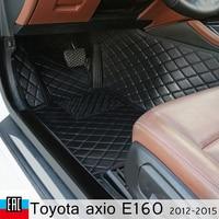 car floor Mats For Toyota axio E160 2012 2015 right steering wheel car Mats custom car decoration from irkutsk car accessories
