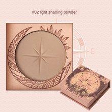 Guicami highlighter pó maquiagem rosto fazer placa natural tridimensional sombra nariz silhueta alto brilho pó fundação