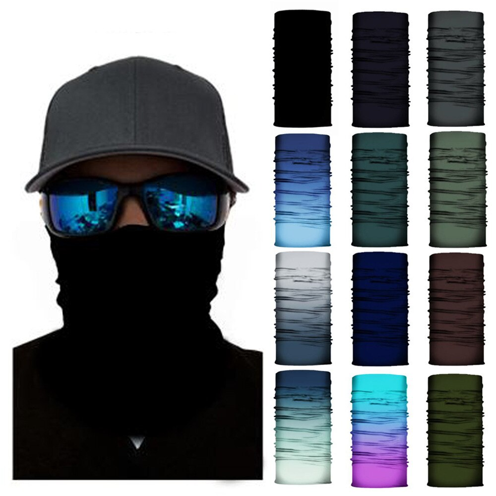 3D Print Facial Masks Men Bandana Cycling Equipment Neck Gaiter Cyclist Face Hiking Mask Bandanas Headband Ski Balaclava Scarf